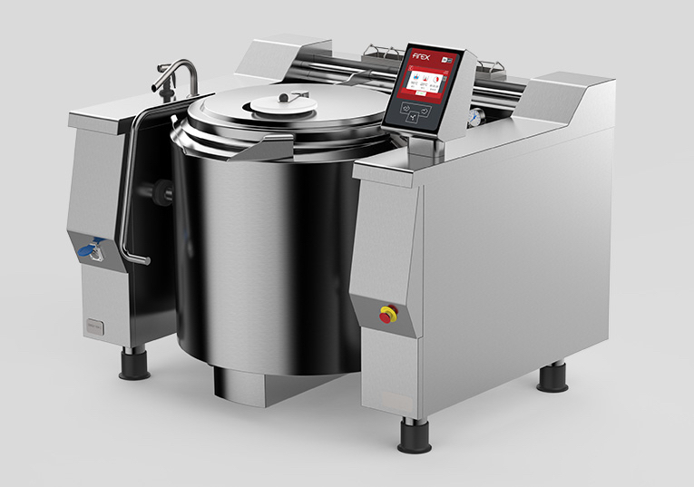 Professional Pan Tilting Kettles Machine For Catering