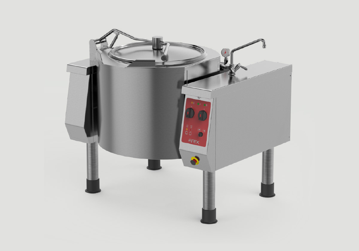 Boiling cooking machine