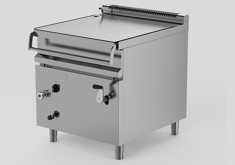 Tilting Braising Pan Machine For Catering Electrically