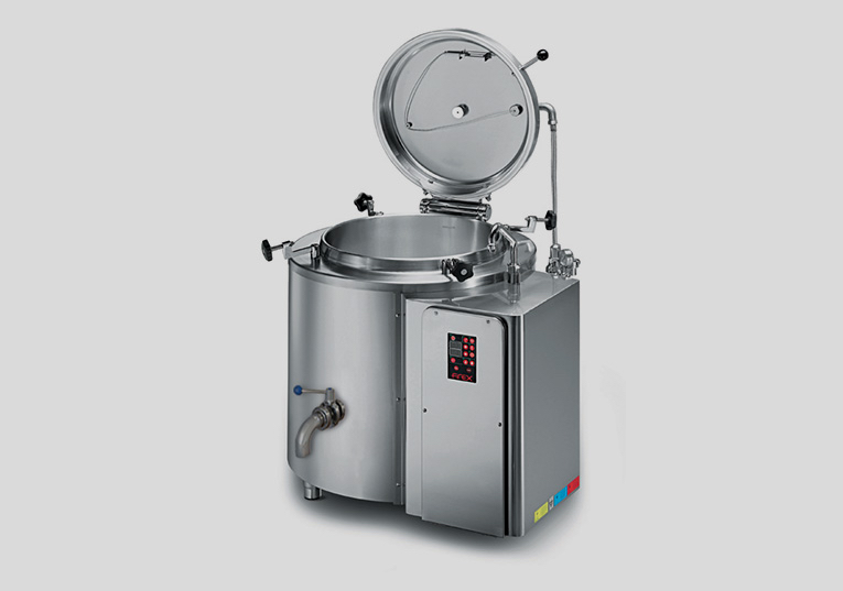 Industrial pans for pasteurisation