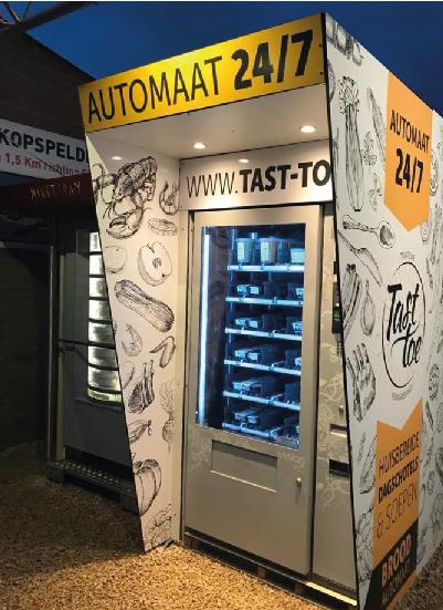Tast Toe distributore automatico