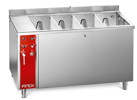 Dreener Line - Lavador de verduras compartimentado